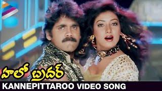 Hello Brother Movie Songs | Kanne Pettaro Video Song | Nagarjuna | Ramya Krishna | Soundarya