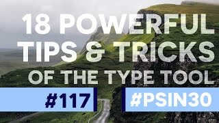 18 Powerful Type Tool Tips & Tricks in Photoshop CC!