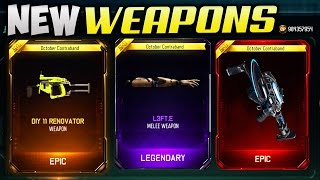 NEW WEAPONS GAMEPLAY! - BLACK OPS 3 SUPPLY DROP OPENING LIVE!! (COD BO3 NEW GUNS)