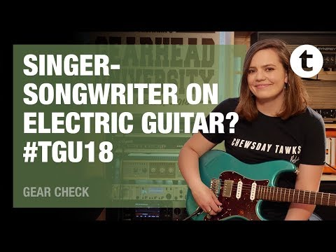 #TGU18 | Practicing guitar in the dark | Interview with Mary Spender | Thomann