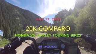 NEW Honda GoldWing vs. NEW Harley Road Glide: Owner