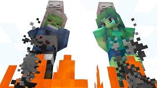 Zombie Life 4 - Craftronix Minecraft Animation