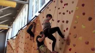 Armless Rock Climbing