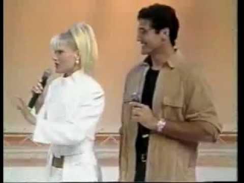 Xuxa anuncia a gravidez no Faustão 97 Parte 01 03