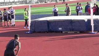"""Dalamar setting 8th grade  high jump  record 6""""0"""