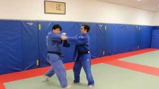 Judo NYC: Fake power grip, Ippon seoinage against resisting opponent