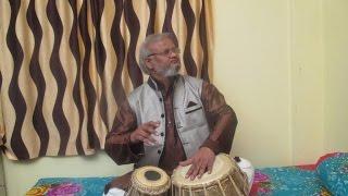 Epi - 1 Tabla Lessons by Pandit Avadhkishor Pandey | Sangeet Pravah World