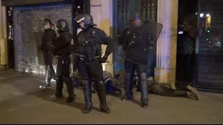 Nuit Debout, manifestants au sol - Paris 29/04/16