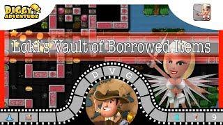 [~Freya~] #9 Loki's Vault of Borrowed Items - Diggy's Adventure