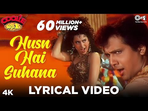 Xxx Mp4 Husn Hai Suhana Lyrical Video Coolie No 1 Govinda Karisma Kapoor Abhijeet Chandana Dixit 3gp Sex