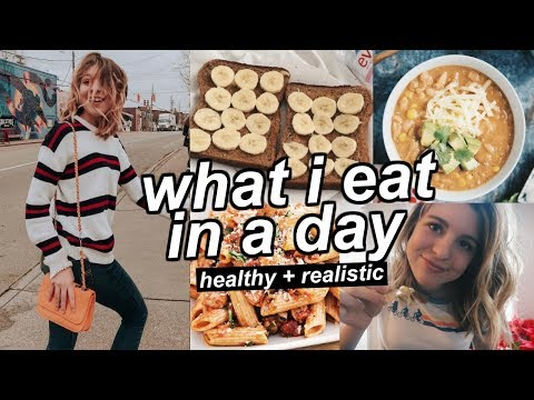 What I Eat in a Day realistic healthy My Struggles With Food