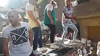 احمد اكس يغني لايف وصالح فوكس يولعها علي  الاستدج في امباابة