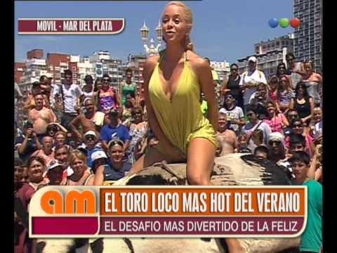 El Toro Loco Más Hot del Verano con Vanina de Fiestisima AM