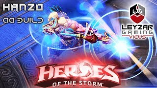 Heroes of the Storm (Gameplay) - Hanzo New AA Build (HotS Hanzo Gameplay Quick Match)