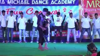 Nannaku Prematho Title Song/nitish dance performance/munna michael dance academy/vizianagaram.