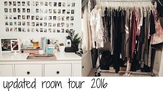 UPDATED ROOM TOUR 2016