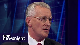 The idea of no-deal Brexit is 'dead and buried': Hilary Benn - BBC Newsnight