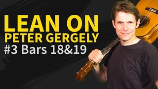 How To Play Lean On #3 Peter Gergely Guitar Lesson