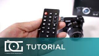 SONY ALPHA A6300 TUTORIAL | Use An Infra Red Remote To Control Your Camera