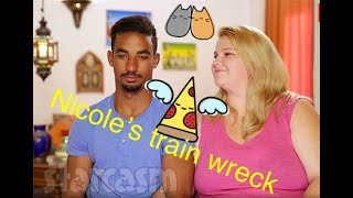 90 Day FIance Nicole and Azan The two most painful and Pathetic Scenes Remixed