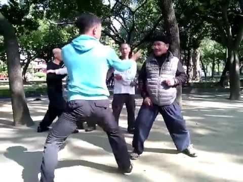 Old Man Kung Fu Skills