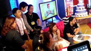 Loisa Andalio, Darren Espanto, Jerome Ponce-Pinanuod ang Tatlong Bibe Dance nina Alex G at Robi