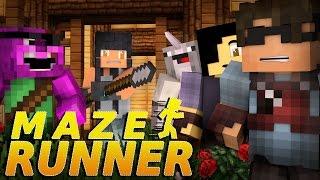 Minecraft MAZE RUNNER! -