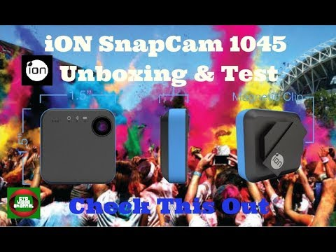 iON SnapCam 1045 Unboxing & Test