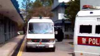 23-2-2007 PTU Passing out 車輛次序綵排