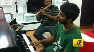 Thandavam Songs Composing Exclusive Video - Nikhils Channel