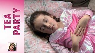 Princess Rosie as Sleeping Beauty