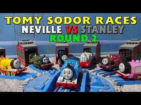 Tomy Sodor Races Neville vs Stanley Round 2