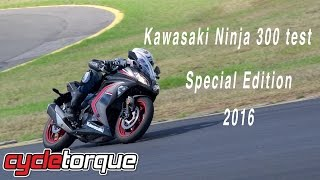 2016 Kawasaki Ninja 300 Special Edition bike test and review LAMS