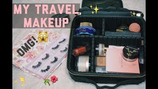 PACK WITH ME: TRAVEL MAKEUP✈️