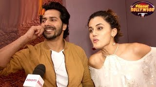 Taapsee Pannu Laughs Off Rumors About Varun's Closeness To Her | Bollywood News