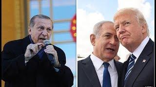 Turkey WAR THREAT against 'terror state' Israel over Donald Trump Jerusalem move