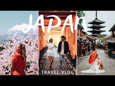 WE DISCOVERED THE BEST CHERRY BLOSSOMS IN JAPAN Travel Vlog