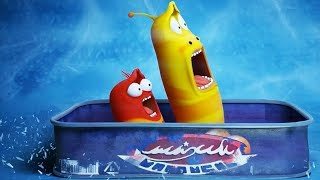 LARVA - BOBSLEIGH | Cartoon Movie | Cartoons For Children | Larva Cartoon | LARVA Official