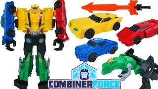 TRANSFORMERS COMBINER FORCE ULTRA BEE ROBOTS IN DISGUISE BUMBLEBEE GRIMLOCK STRONGARM SIDESWIPE TOY