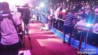 Shatta Wale performs with Shatta Michy at Tigo Ghana Meets Naija 2016
