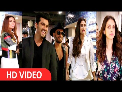 Xxx Mp4 Arjun Kapoor Ranveer Singh Esha Gupta Others At Photographic Exhibition 3gp Sex