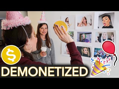 Throwing Myself a Children s Birthday Party ft. Demonetize The YouTuber game