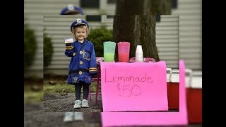 This Little Girl Was Selling Lemonade To Raise Money  Then Suddenly The Cops Arrived