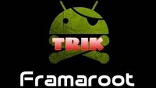 cara root semua android dengan framaroot apk