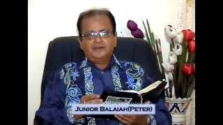 Bro. Junior Balaiah Testimony - Part: 01