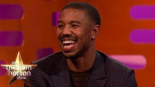 Michael B. Jordan's Chest In Black Panther Is Driving People Wild | The Graham Norton Show