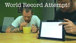 TSCS - New World Record *Vomit Alert*