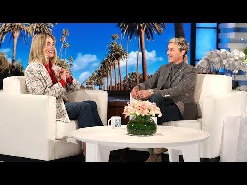 You Won t Believe Margot Robbie s Honeymoon with Ellen Short Shorts & a President
