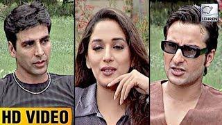 Bollywood Flashback Akshay Kumar And Madhuri Dixit's 'Aarzoo' UNSEEN Video | Lehren Diaries
