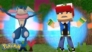 Minecraft: Pokemon X Y - FILHO DO ASH GRENINJA! #19